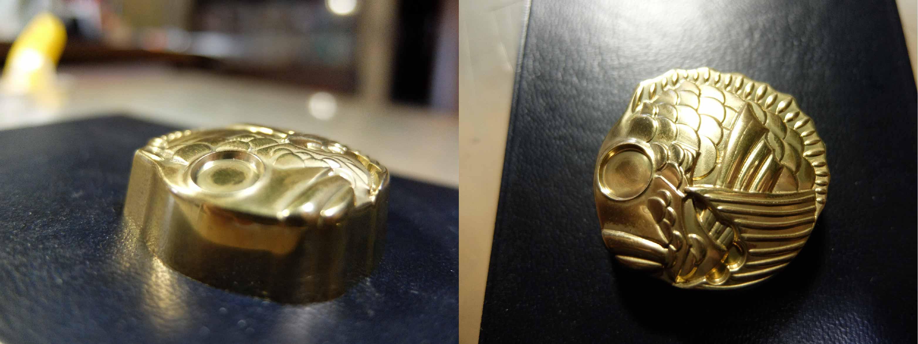 鯛造形チョコ金型